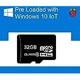 carte Micro SD préchargé avec Windows 10 IOT Core pour Pi framboise 2 - 32 GB