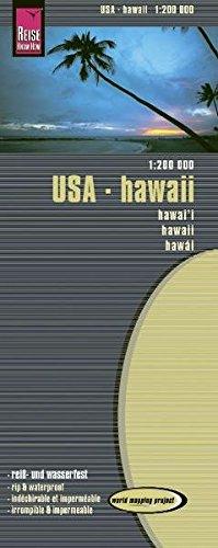 USA 12 Hawaii rkh r/v (r) wp GPS (1200) par Reise Know-How Verlag GmbH