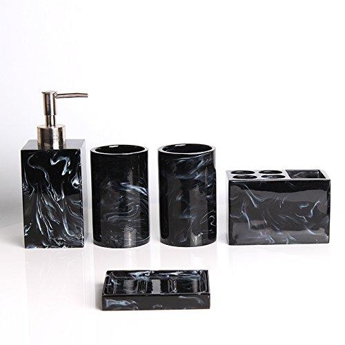 HJKY bathroom accessories set Moderne und minimalistische Badezimmer Vanity Sets Badewanne Kit mit...