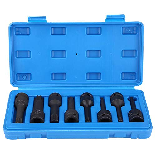 Cocoarm Torx Stern Sockel Bit Set 8Pcs 1/2