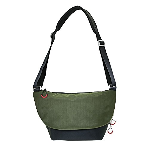 Extra Large Camera Bag (DÖRR Fototasche Urban Large schwarz/grün)