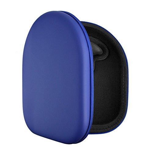 UltraShell, custodia da borsa per cuffie, per Sony MDR-1000X, MDR-V700DJ, MDR-100AAP, MDR-100ABN, MDR-XB950BT Blue
