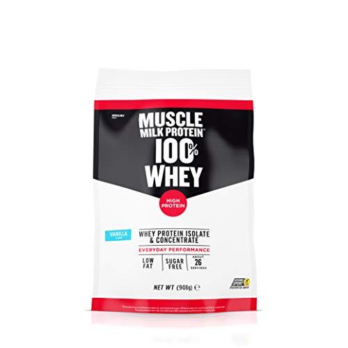 CytoSport Muscle Milk 100% Whey Vanilla, 908 g -