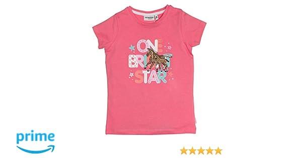 Salt and Pepper Baby T-Shirt für Mädchen Sunshine pink oder weiß bestickt