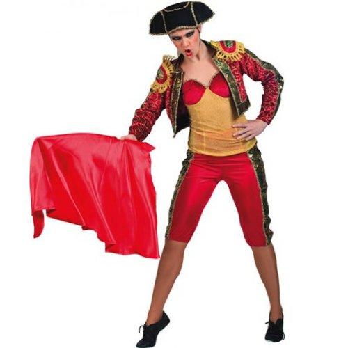 Torreadorin Matadora Seniorita Kostüm für Erwachsene Fasching