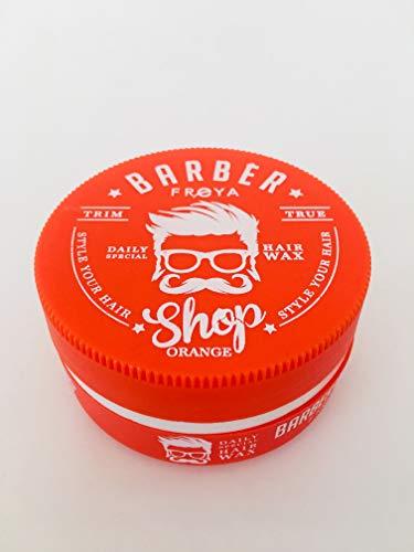 FREYA Barber Shop Haarwachs ohne Mineralöl, Silikone und Parabene - orange - 150 ml