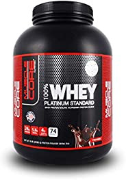 MUSCLE CORE NUTRITION Whey Platinum Standard Chocolate, 5 Lbs.
