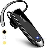 New bee LC-B41 Bluetooth Earpiece V5.0 Wireless Handsfree Headset with Microphone 24 Hrs Driving Headset 60 Da