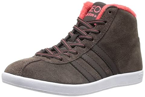 adidas - Baskets pour femme VL NEO Court Mid W - 37 1/3, Marron