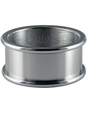 Quiges Edelstahl Stapelring Basisring für Füllringe 8mm Höhe (verschiedene Ringgrößen und -farben)
