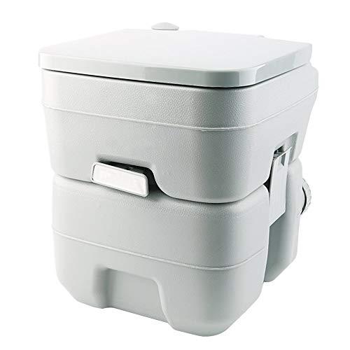 Mimagogo Tragbare Camping WC Loo Caravan Flush Reise Außen Potty Commode