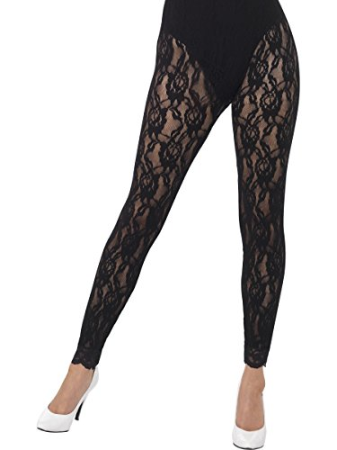 80s Madonna Style Lace Leggings (One Size) - highly rated by customers.