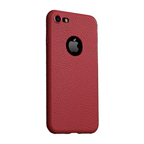 Tsuger pelle Case Cover Custodia per iPhone6 plus--5.5 A-Rosa