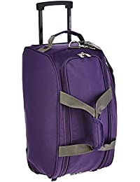 Aristocrat Volt Polyester 53 cms Purple Travel Duffle (DFTVOL55PPL)