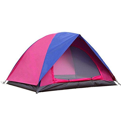 TENTLMK Outdoor Camping Windschutz- und Regenkontrollzelte (Farbe : Pink, größe : OneSize)