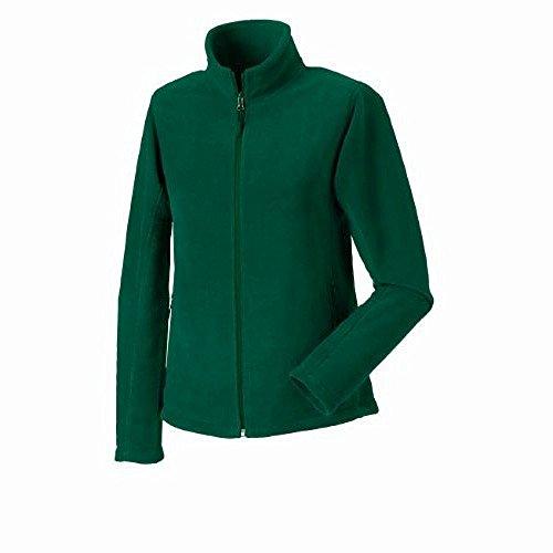 Russell Jerzees Colours - Veste polaire zippée - Femme Vert - Vert bouteille