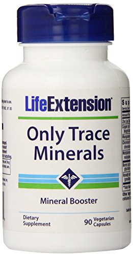 Life Extension Only Trace Minerals Capsules, 90-Count by Life Extension Dreierpack