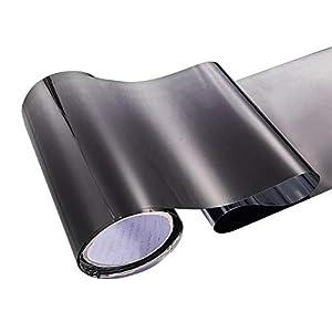 Scheibentönungsfolie, Sonnenschutzfolie | Selbsthaftende Fensterfolie | UV-Schutz & Sichtschutzfolie, Kratzfest, Autofenster Sonnenblende Streifen Tönungsfolie Frontscheibe Schützen Schatten Aufkleber