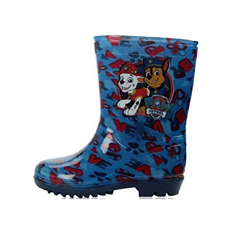 Kids Boys Paw Patrol Wellington Boots UK Child Size 4 5 6 7 8 9 10 Infants