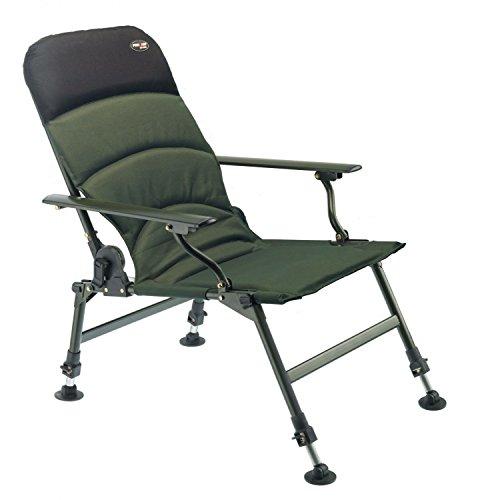 PRO CARP Karpfenstuhl mit Armlehnen Modell 7100