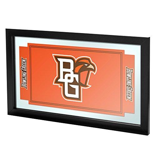 Markenzeichen Gameroom Bowling Green State University gerahmt Logo Spiegel