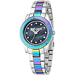 Just Cavalli Damen Uhrenbeweger Collection JUST SUNSET Edelstahl mehrfarbig R7253202509
