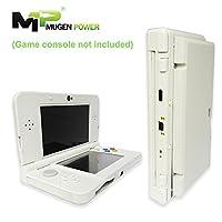 Mugen Power | Nueva New Nintendo 3DS 5000mAh Extended Battery | Blanco de color negro |Más de 3.5x Tiempo de reproducción |La consola de juegos no está incluida
