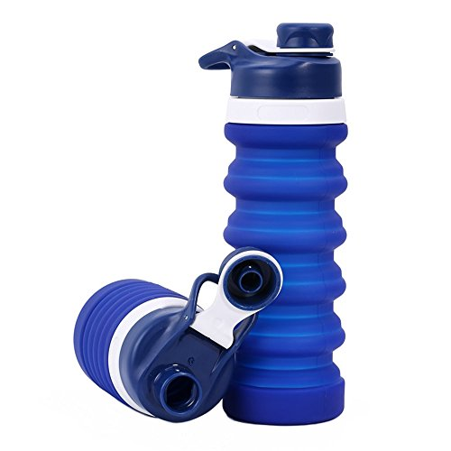 KeepGoo Botella de Agua Deportivak, Botellas de...
