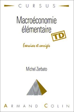Macroéconomie élémentaire