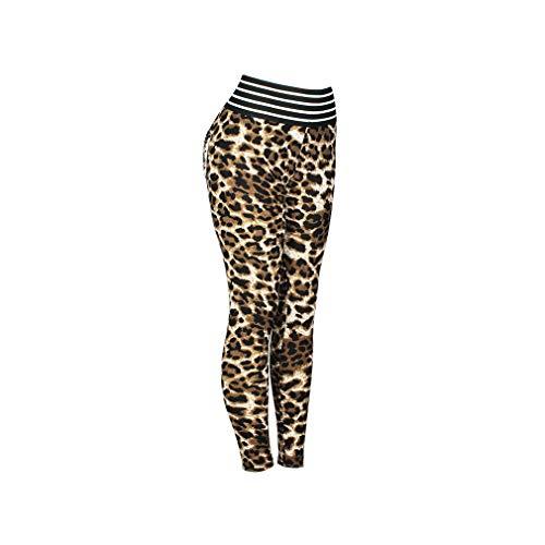 08786ea3e07dd4 Sexy Leopard Women Push Up Workout Femme High Waist Leopard Leggings  Elastic Sportswear