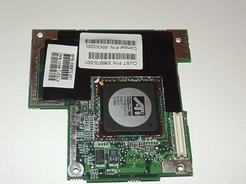 HP Compaq NX7000HP Pavillion Zt3000pour ordinateur portable carte graphique vidéo carte graphique ATI Mobility Radeon 9000336970–00145563532003Ref: 7