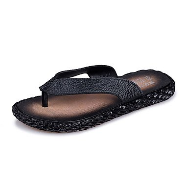 Informale all'aperto Sandali Walking piani del tallone Slippers & Estate Comfort in PVC da uomo sandali US7.5 / EU39 / UK6.5 / CN40