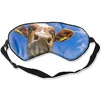 Schlafmaske mit Tiermotiv und Kuhmotiv, verstellbar preisvergleich bei billige-tabletten.eu