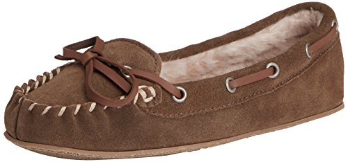 Ruby & Ed - Moose Suede, Pantofole Donna Marrone (Brown (Moose))