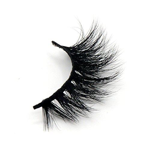 Arison Lashes 3D 100% Fait main cross Noir Faux Cils Allongement volumineux Vison Authentique Pour maquillage yeux