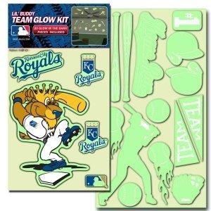 Detroit Tigers Lil' Buddy Glow In The Dark Decal Kit