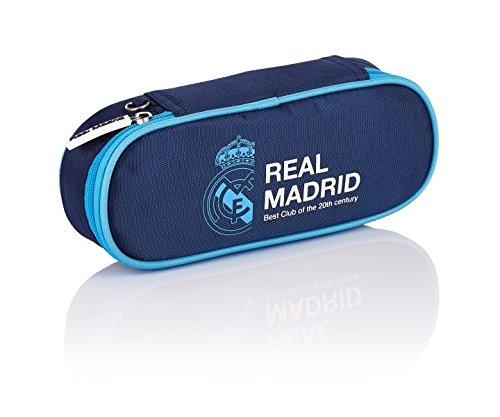 Real Madrid 3 Federmäppchen, 1,5 Liter, Navy Blue - 505017012