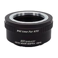 KECAY® Adaptador de Montaje de Lente M42 42mm Tornillo Adaptador a Sony ...