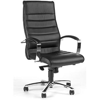 Chefsessel Bürostuhl Leder schwarz Schreibtischstuhl PRESIDENT SOFT hjh OFFICE