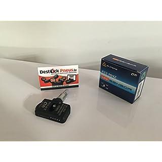 CUB Reifendrucksensor, Universal Sensor, Programmierbarer Uni TPMS RDKS Sensor mit Gummi Snap-In Ventil