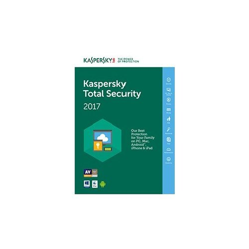 Kaspersky Total Security 2017 (3 Dispositivi)