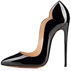 Arc-en-Ciel Damenschuhe Stiletto High Heel Pumps-black-us8