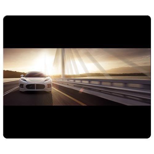 26x-21cm-10x-8inch-mousepads-preciso-gamuza-rough-de-goma-antideslizante-juego-de-coches-spyker-logo