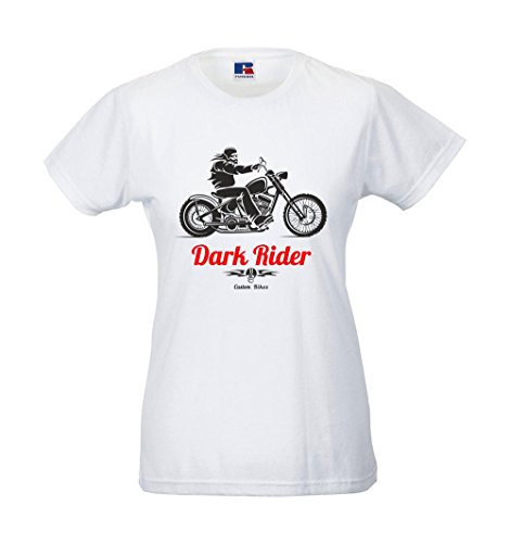 Girlie-Shirt - Dark Rider Weiß