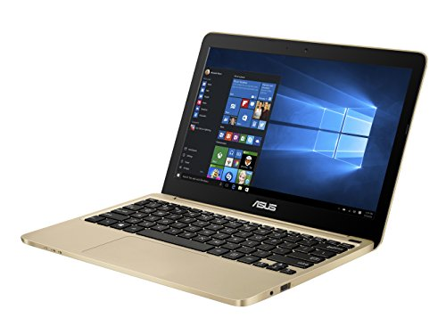 Asus E200HA-FD0081TS PC portable 11.6' Doré (Intel Atom, 4 Go de RAM, SSD 32 Go, Windows 10, Garantie 2 ans) + Office 365 Personnel inclus pendant 1 an