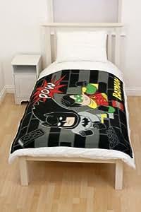Character World Lego Batman Cards Fleece Blanket