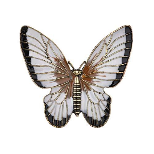 Cdrox Frauen Schmetterling Broschen Weibliches Tier Insekt Schal-Klipp-Partei Brautkleid...