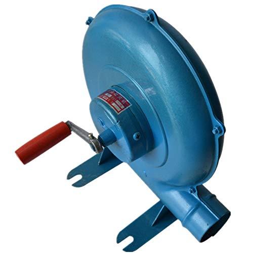 SDBRKYH BBQ Fan, Air Blowe Fan Grill Föhn BBQ-Kochventilator Tragbar und leicht - Blau,300W