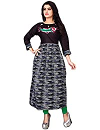 OSLC Kurti (Women's Clothing Kurti For Women Latest Designer Wear Kurti Collection In Latest Kurti Beautiful Bollywood... - B077BY7Y7W