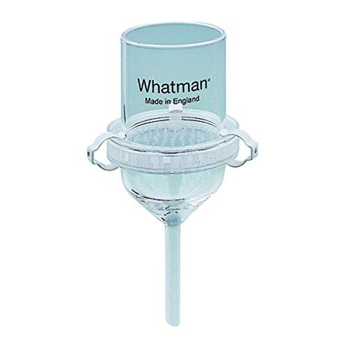 Whatman 1950-009 Filtertrichter für Glas-Mikrofaser, 200 ml, 90 mm Durchmesser, 3-teilig